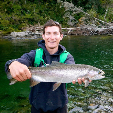 Baranof Fishing Guide Josh Hammond