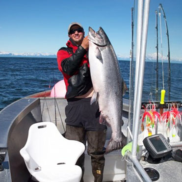 Baranof Fishing Guide Trent Updegraff