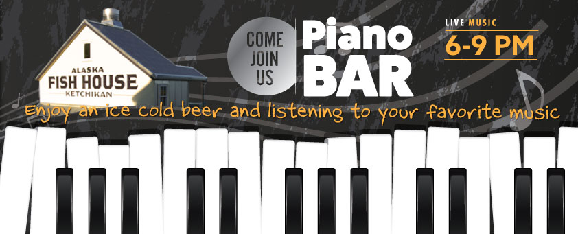 Piano Bar nights at the Fish House