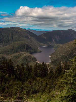 Ketchikan Lake from the Deer Mountain picture