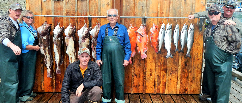 Baranof's Ketchikan Alaska fishing excursion