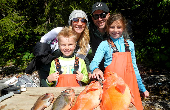 Baranof Fishing Excursions Rates for walk-ups