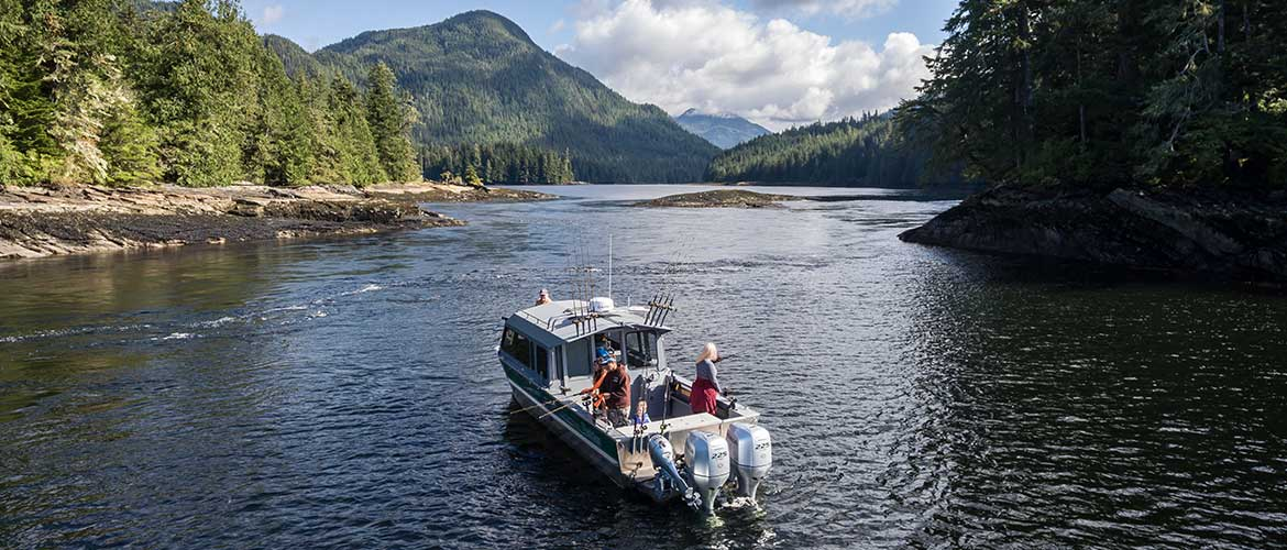 Baranof Boat Charters to the Misty Fjords