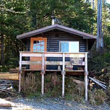 Alava Bay Forest Service Cabin around Ketchikan Alaska