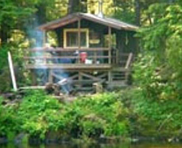 Forest Service Cabinlocated on Prince of Wales Islan
