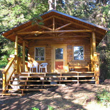 Lodging experience on Prince of Wales Island in southeastern Alaska.