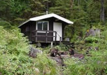 Cabin Prince of Wales Island in the Tongass National Forest.