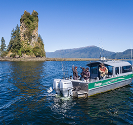 Charter your own boat for a fishing Excursion
