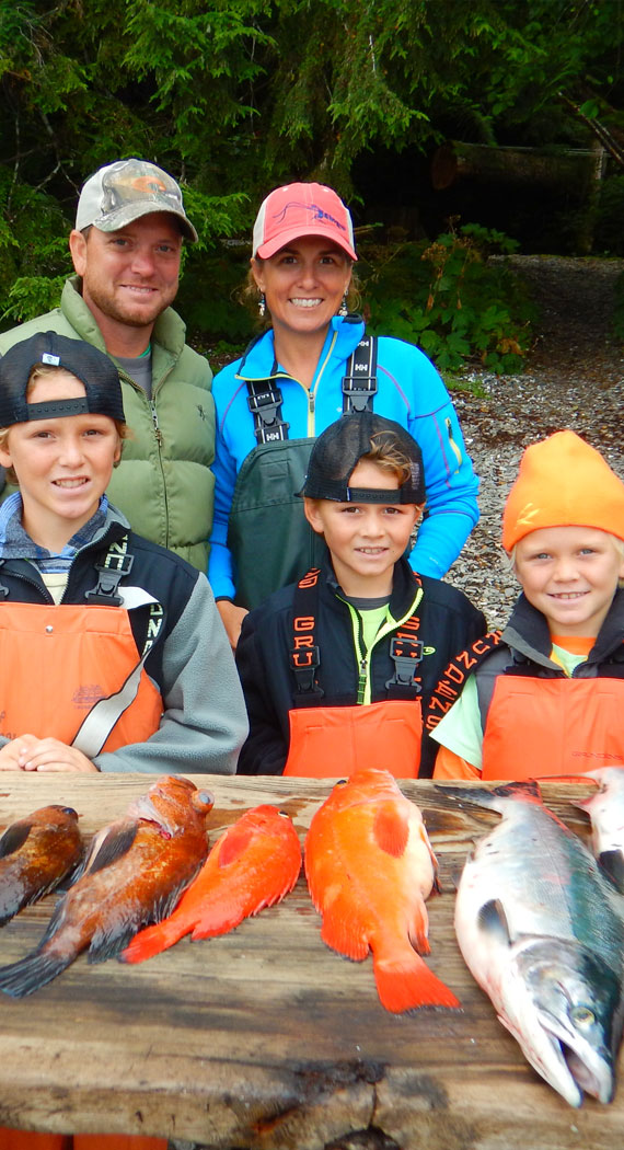 Baranof fishing offers top rate fishing excursions