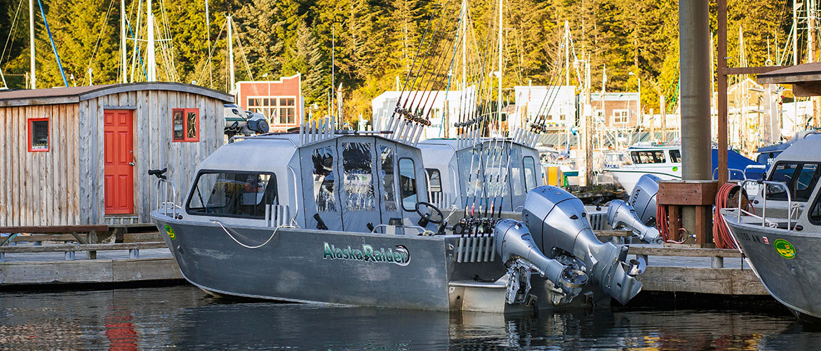 24ft raider Cabin Cruiser - Baranof's Fleet