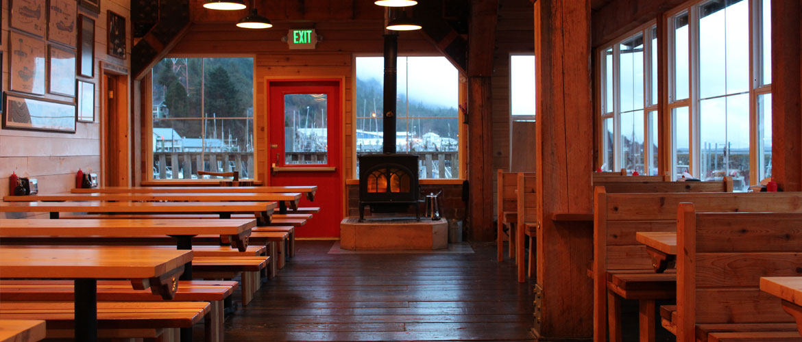 Inside the Alaska Fish House