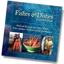 Fishes and Dishes Cookbook Cover