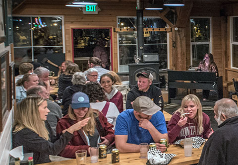Live music at the Alaska Fish House on Friday and Saturday