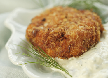 ALASKA FISH HOUSE GINGER SALMON FISHCAKES Photo