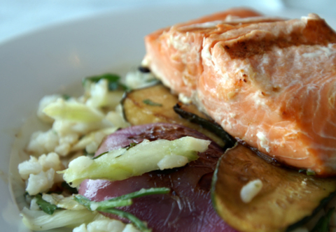 salmon, halibut, and crab seafood recipes