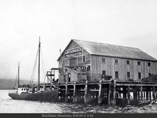 Ketchikan Fishing Cannery from the Past